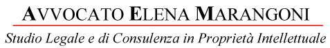 Avvocato Elena Marangoni - Studio Legale di Consulenza in Proprietà Intellettuale - Padova